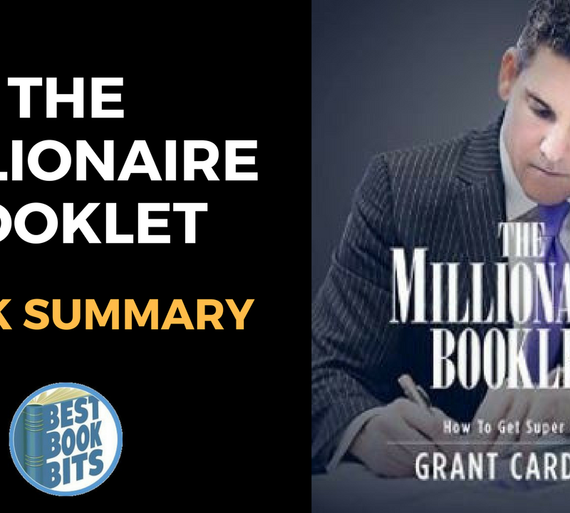Millionaire Booklet by Grant Cardone