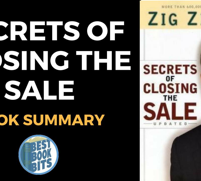 Secrets of Closing the Sale by Zig Ziglar