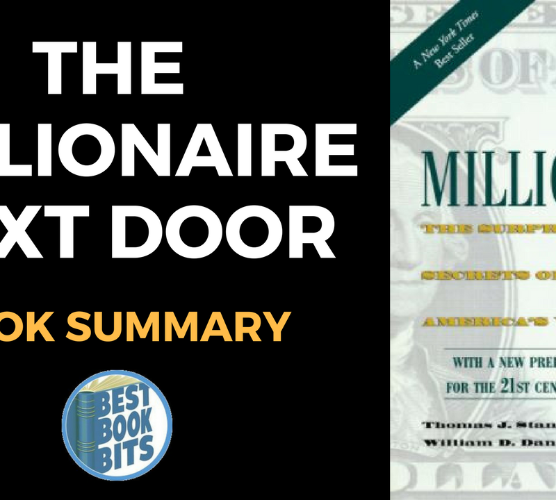The Millionaire Next Door The Surprising Secrets of America's Wealthy by Thomas J. Stanley