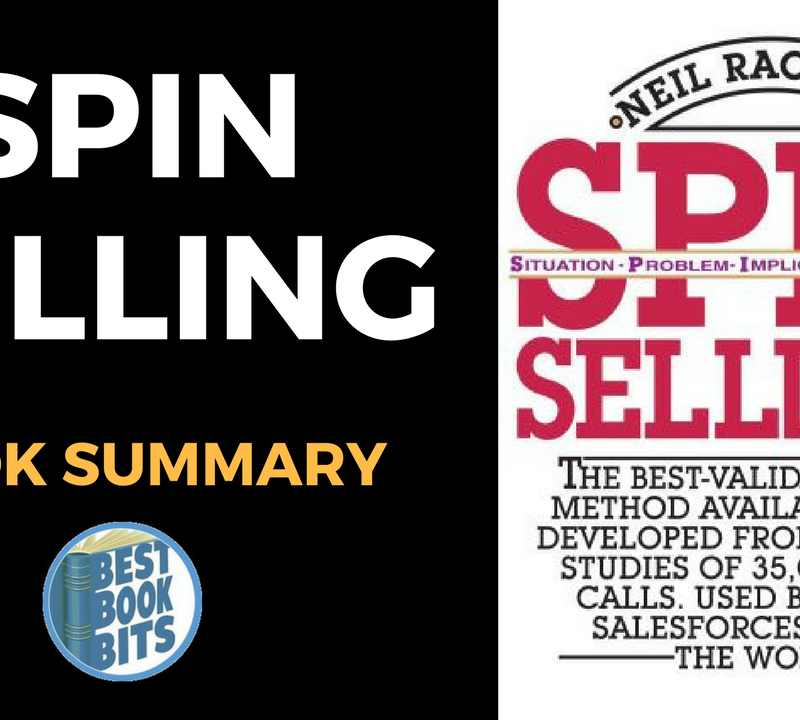SPIN selling Book by Neil Rackham