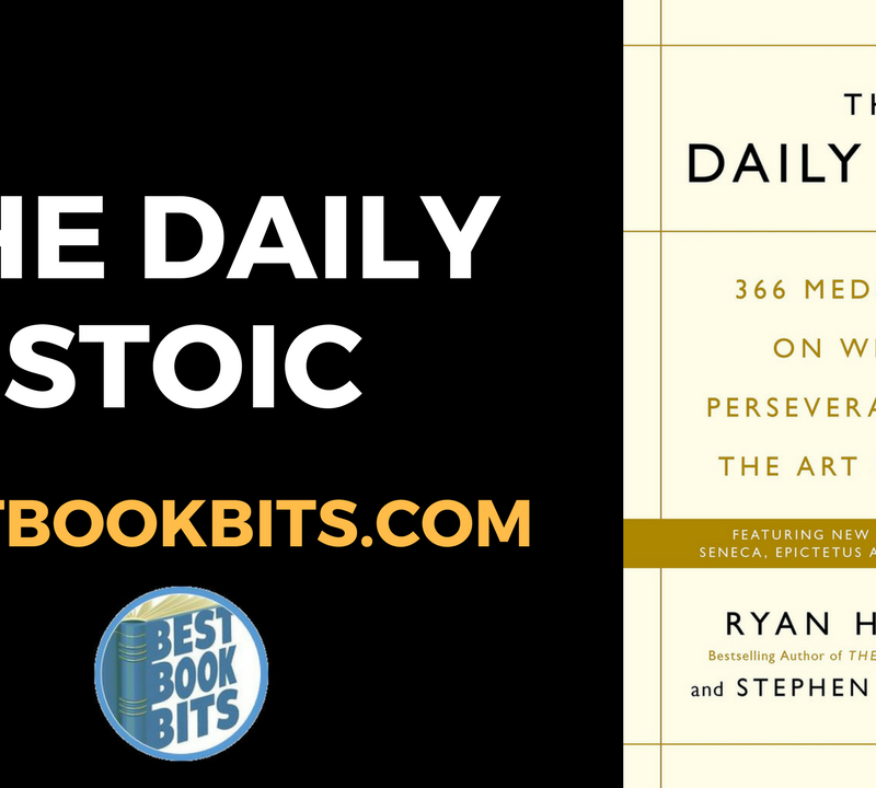 The Daily Stoic by Ryan Holiday