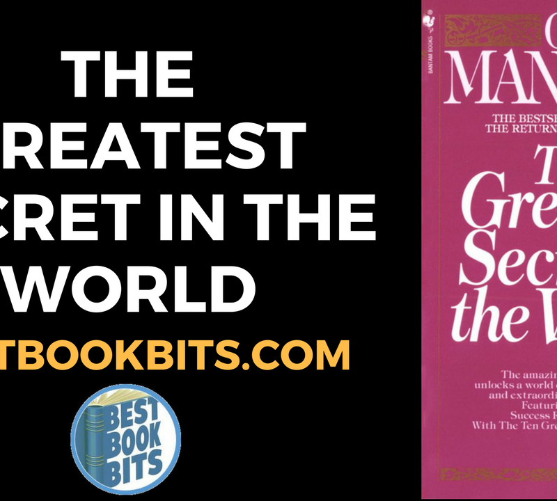The Greatest Secret in the World by Og Mandino