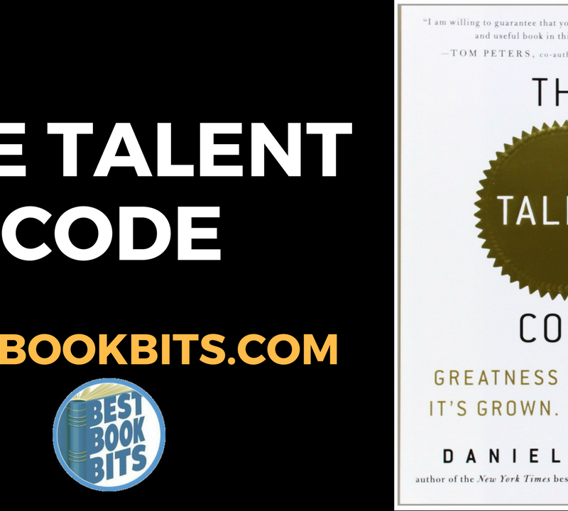 The Talent Code by Daniel Coyle.