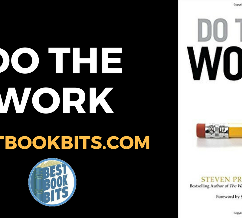 Do The Work by Steven Pressfield