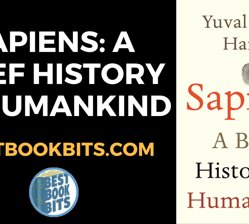 Sapiens A Brief History of Humankind by Yuval Noah Harari
