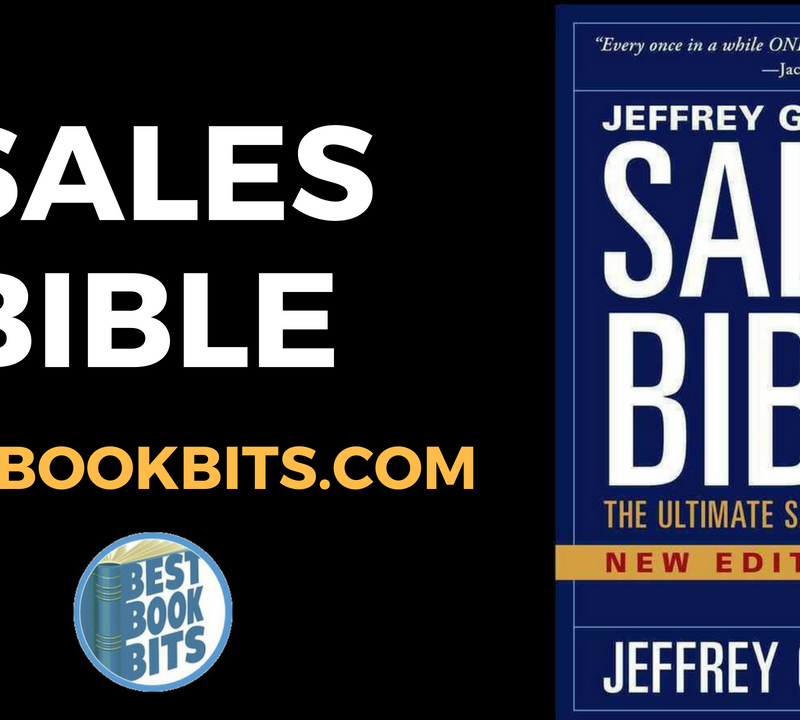 The Sales Bible – The Ultimate Sales Resource by Jeffrey Gitomer