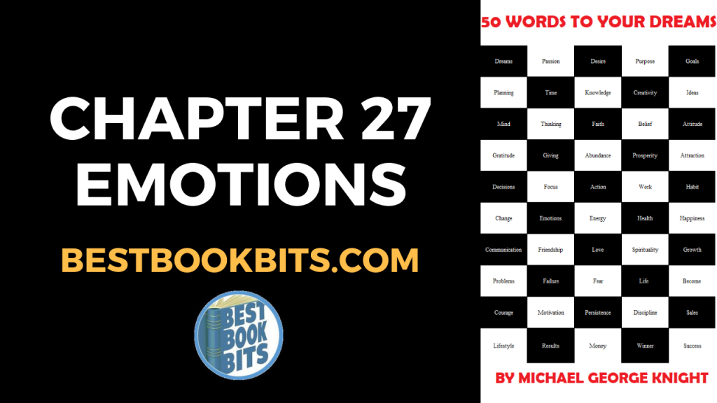 CHAPTER 27 EMOTIONS