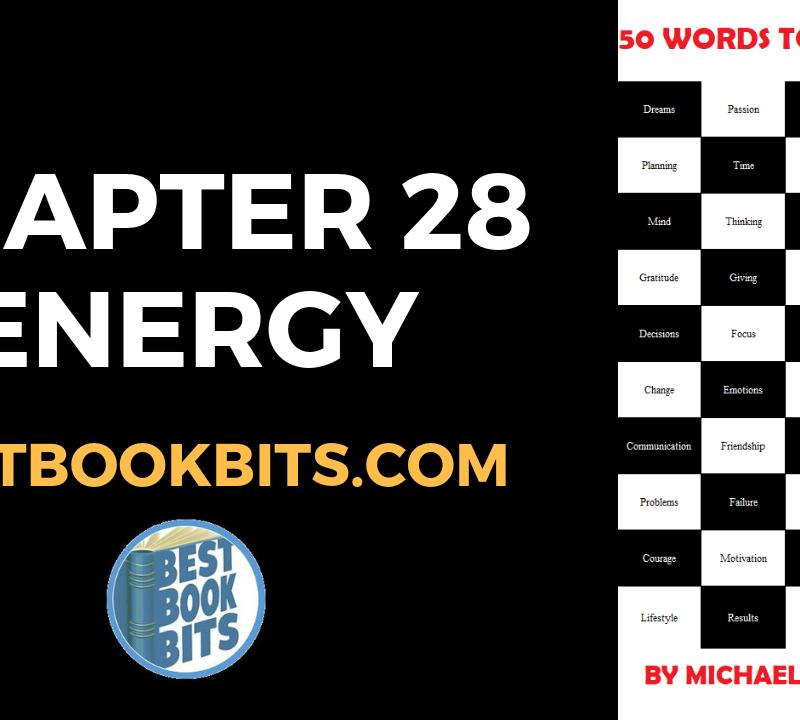 CHAPTER 28 ENERGY