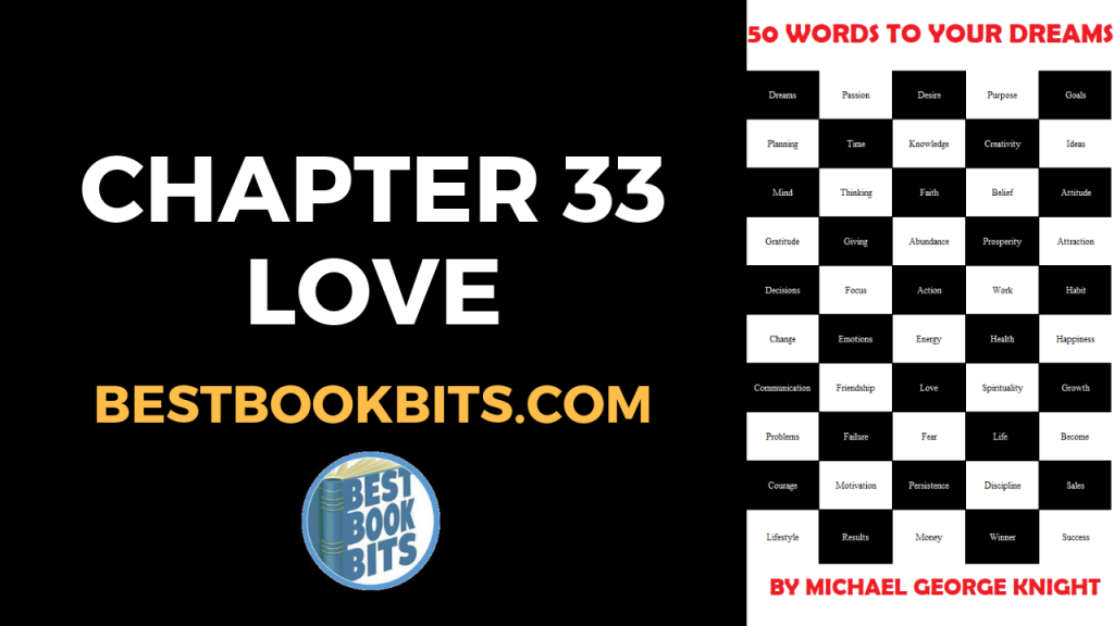 CHAPTER 33 LOVE