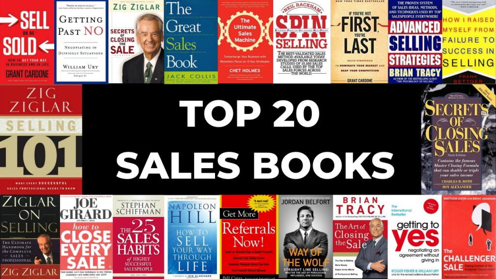 Top 20 Sales books