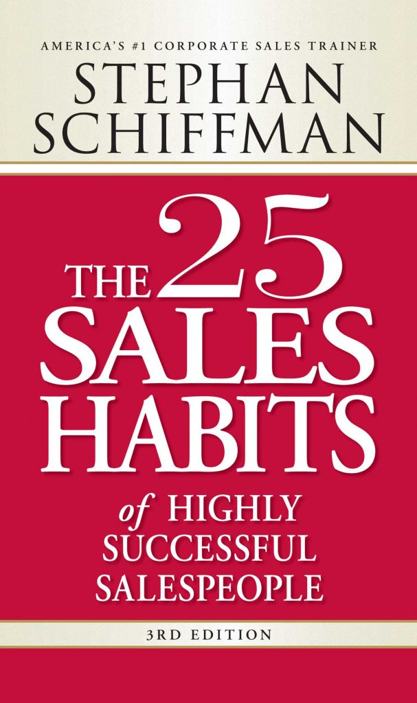 The 25 Sales Habbits Of Highly Successful Salespeople