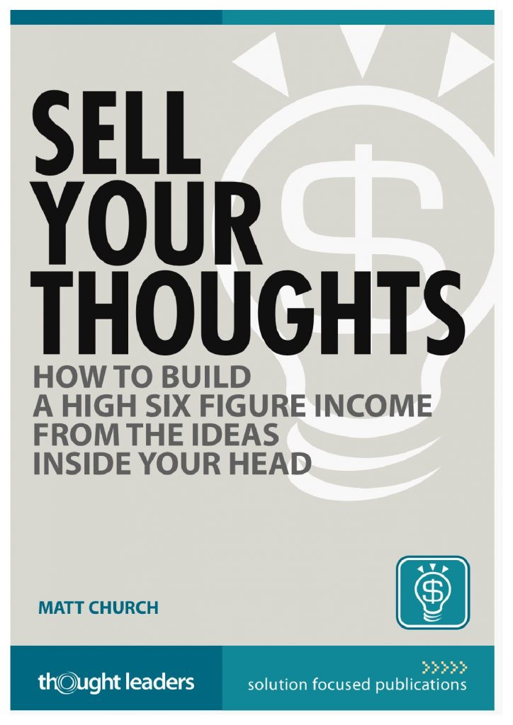 SELL YOUR THOUGHTS - MATT CHRUCH