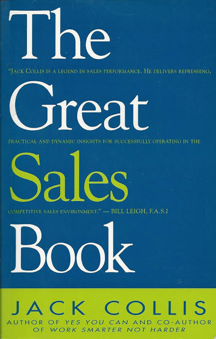 THE GREAT SALES BOOK BY JACK COLLIS