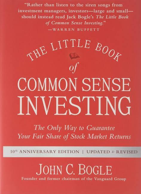 THE LITTLE BOOK OF COMMON SENSE INVESTING BY JOHN C. BOGLE