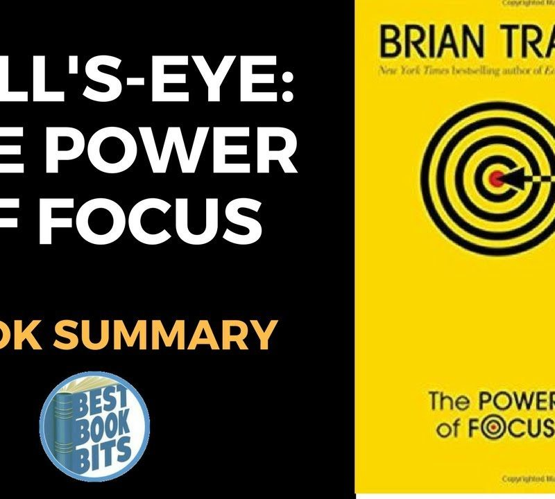 Bull's-Eye The Power of Focus by Brian Tracy