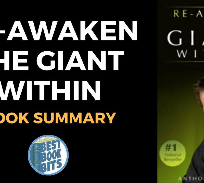 Re-Awaken The Giant Within by Tony Robbins