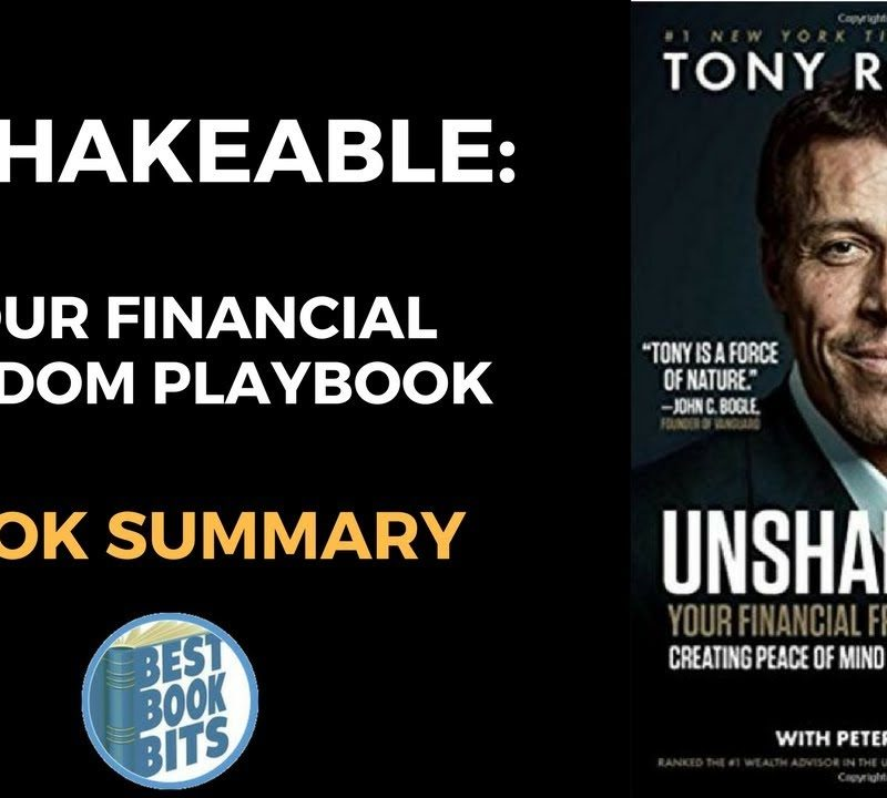 Unshakeable Your Financial Freedom Playbook by Tony Robbins