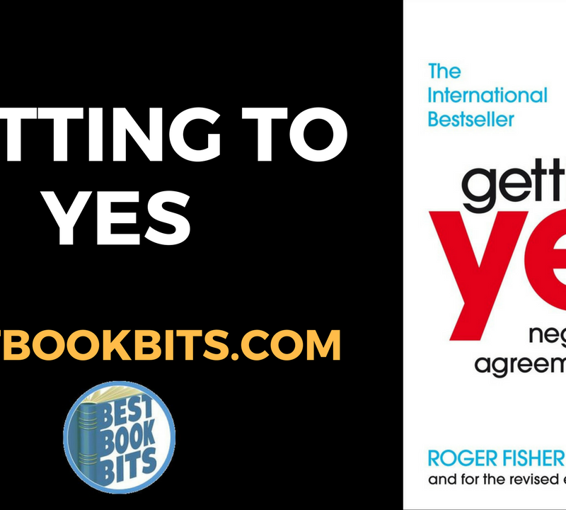 Getting to Yes by Robert Fisher