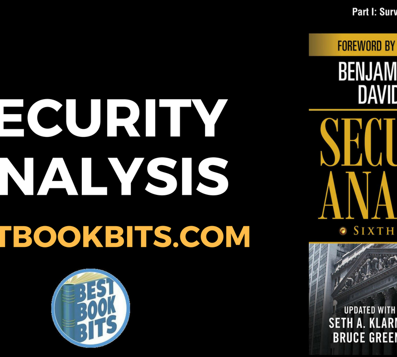 Security Analysis by Benjamin Graham