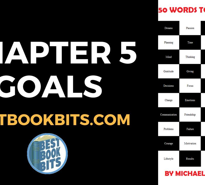 5 GOALS