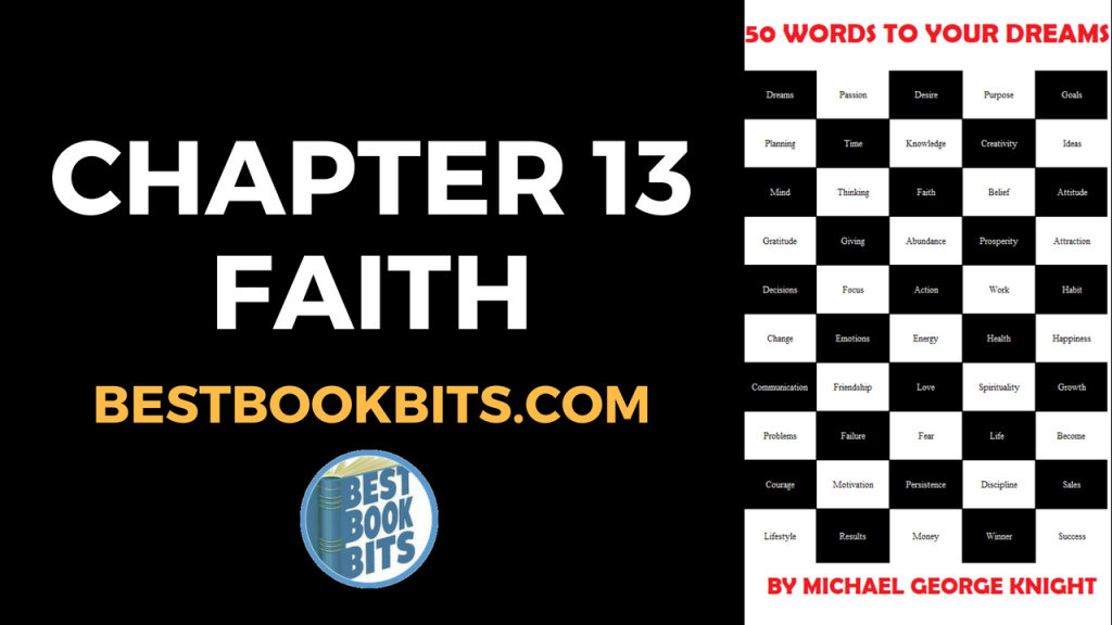 Chapter 13 Faith