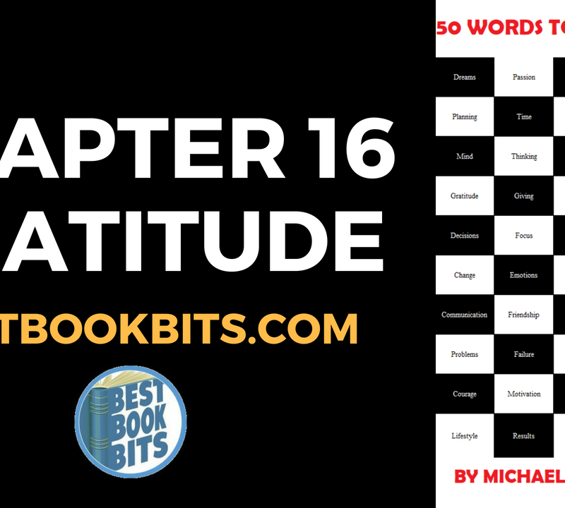 16 GRATITUDE