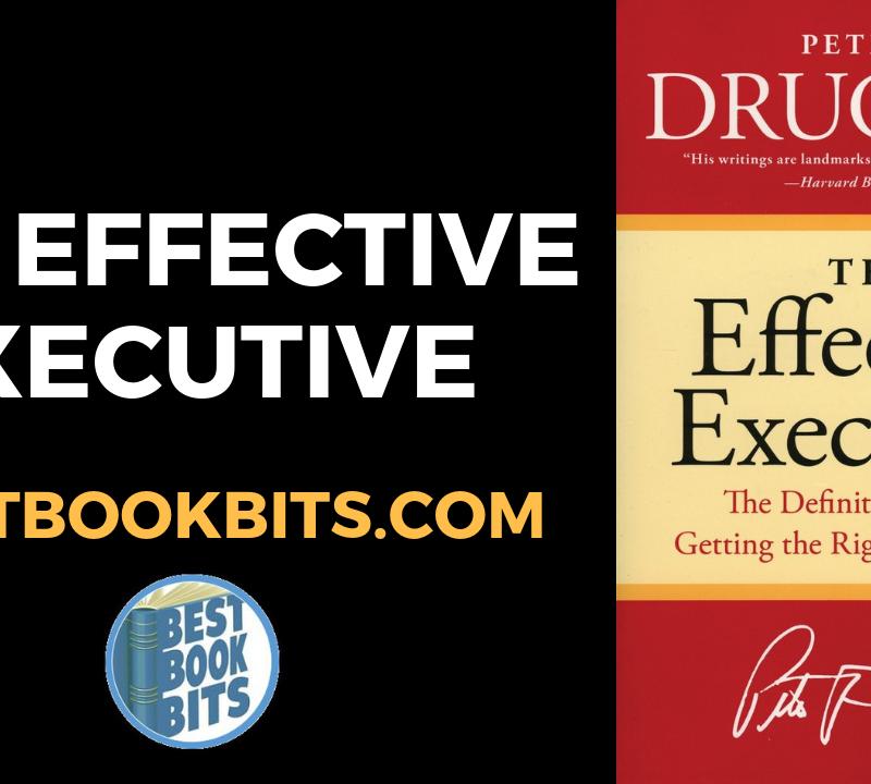 The Effective Excecutive
