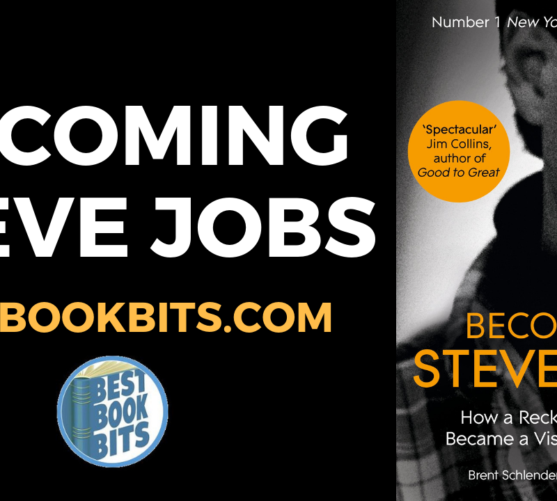BECOMING STEVE JOBS By Brent Schlender and Rick Tetzeli.
