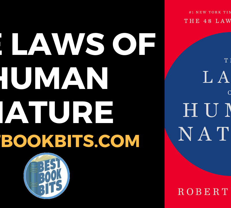 The Laws of Human Nature – Robert Greene