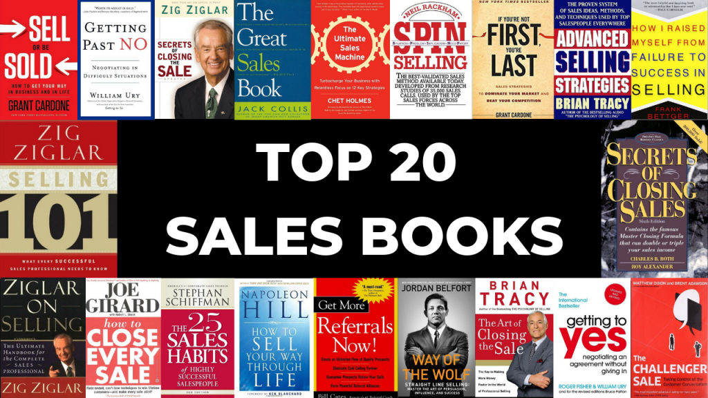 Top 20 Sales books