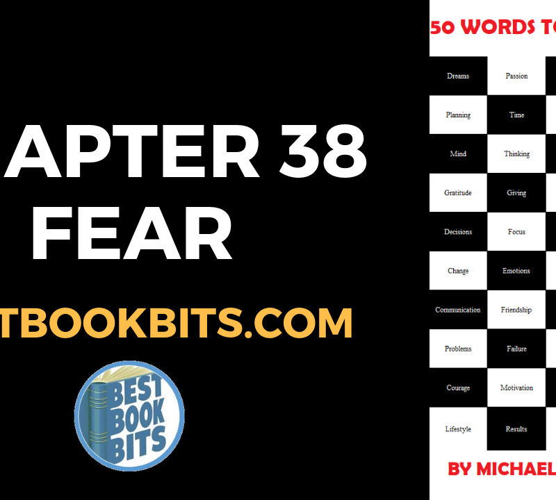 CHAPTER 38 FEAR