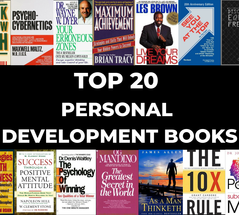 Top 20 Personal Development books
