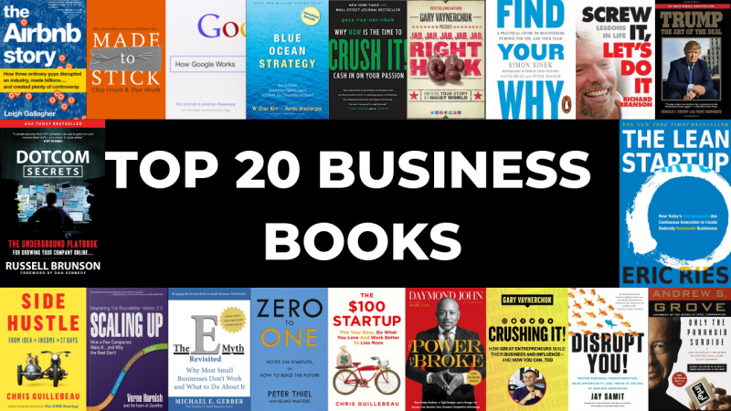 Top 20 Business Books