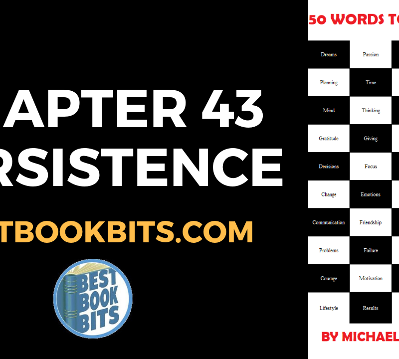 CHAPTER 43 PERSISTENCE