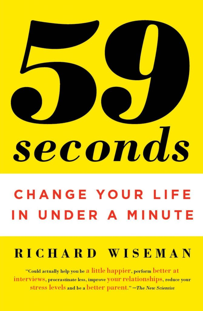 59 SECONDS RICHARD WISEMAN