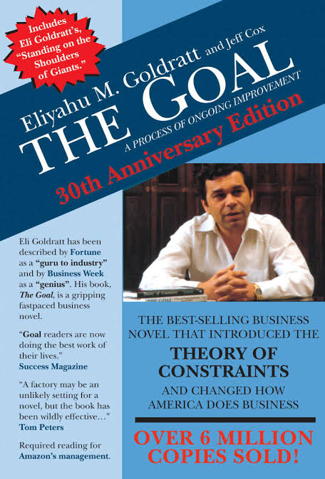 THE GOAL BY ELIYAHU GOLDRATT