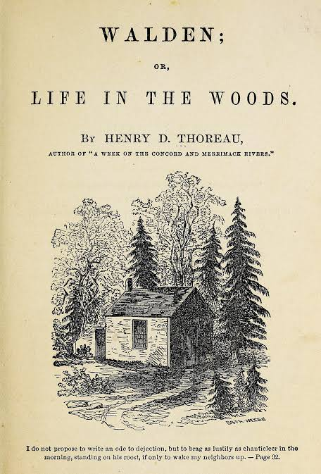 WALDEN BY HENRY DAVID THOREAU 1